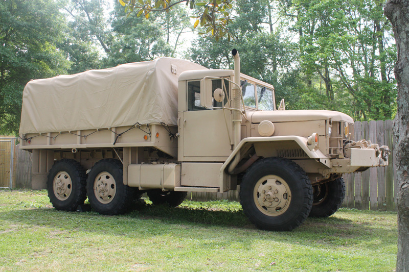 Military Surplus Auction >> 1953 M35A2 with 6BT + Allison AT545 swap