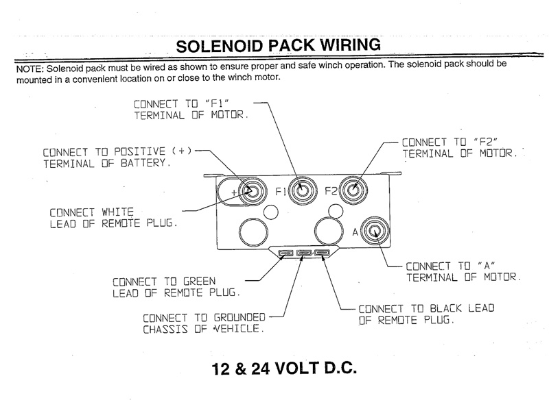 winch wiring diagram two solenoid solidfonts 8274 warn winch wiring diagram nilza net